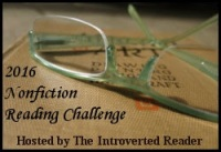 Nonfiction Reading Challenge hosted at The Introverted Reader